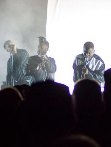 Young Fathers Electric Fields
