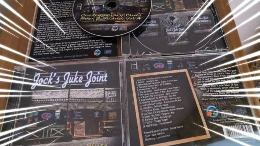 Three D&G blues acts included on Jock's Juke Joint CD