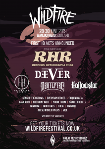 Wildfire Festival Poster